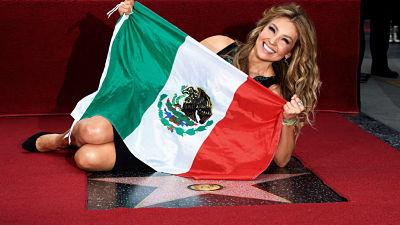 Además de Thalía, ellos también tienen estrella en el Paseo de la Fama