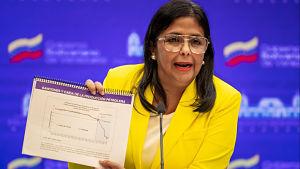 """Venezuela presenta """"evidencias"""" ante la CPI sobre el impacto de las sanciones de Estados Unidos"""