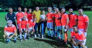 Santiago se corona campeón del Clásico de Veteranos de Fútbol