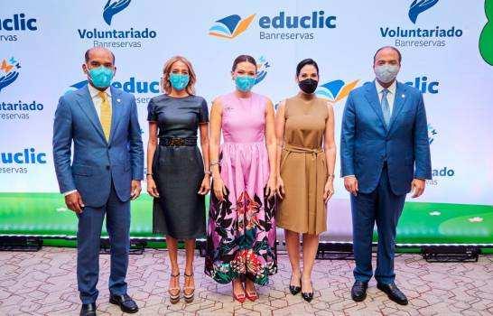 Voluntariado Banreservas lanza la plataforma digital educativa Educlic