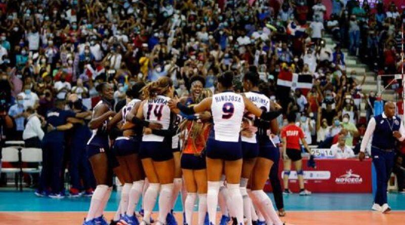 Dominicanas ganan invictas Copa Panamericana de Voleibol 2021