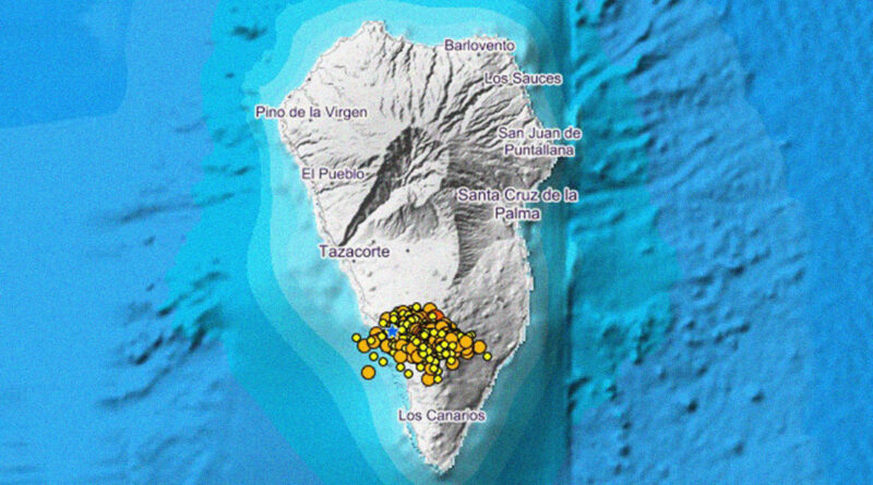 Enjambre sísmico en España: se registran más de 1.500 temblores, incluido uno de magnitud 3,9, en las islas Canarias