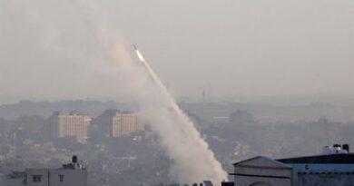 Israel intercepta un cohete que fue lanzado desde la Franja de Gaza