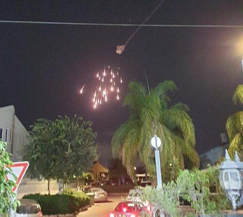 La 'Cúpula de Hierro' de Israel intercepta un misil en pleno vuelo lanzado desde Gaza