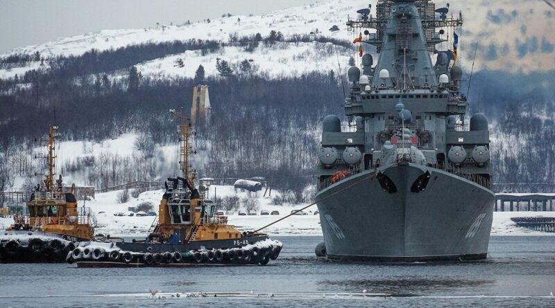 La Flota rusa del Norte rusa realiza maniobras en el Ártico con participación de más de 3.000 efectivos