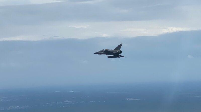 La Fuerza Aérea de Francia busca una bomba perdida durante unos ejercicios militares