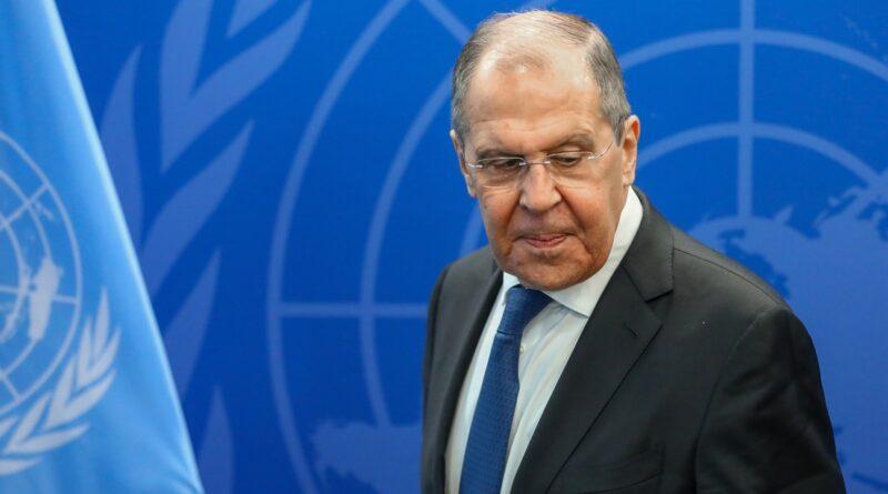 """Lavrov revela que Borrell le dijo que """"mejor no trabajen en África, porque ese lugar es nuestro"""""""