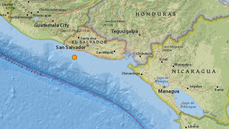 Se registra un sismo de magnitud 5,3 en El Salvador