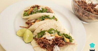 Receta de Tacos de barbacoa
