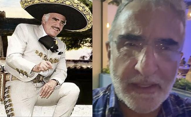Vicente Fernández Jr, desmintió la muerte de su padre