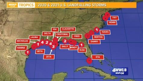 La tormenta tropical Nicholas sigue inundando la costa de Texas. Y una nueva depresión podría formarse pronto