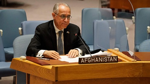 Ni los talibanes ni el gobierno depuesto: Afganistán no tiene representación en Asamblea ONU