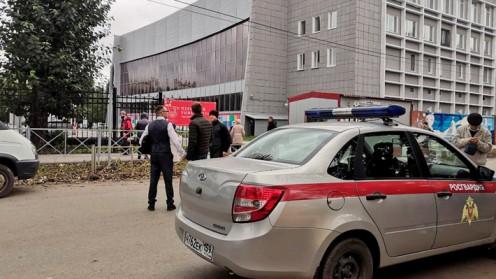 Al menos 8 muertos deja un tiroteo en una universidad de Rusia