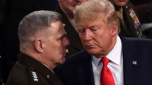 Libro afirma que el jefe del Estado Mayor Conjunto de EE.UU. temió que Trump ordenara un ataque nuclear