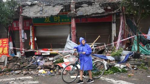 Al menos 3 muertos y 60 heridos por un terremoto de 6 grados en China