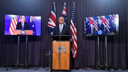 Australia compra submarinos nucleares de EE.UU. tras nueva alianza con el país y Reino Unido