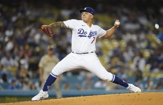 Los Dodgers ganan a Padres; Julio Urías logra su victoria 17