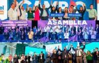 Partidos políticos se sumergen es un festival de juramentaciones