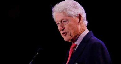 Ex Presidente de EE.UU. Bill Clinton fue hospitalizado por infección no relacionada con el covid-19