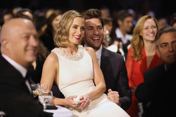 Los momentos más dulces de Emily Blunt y John Krasinski como pareja